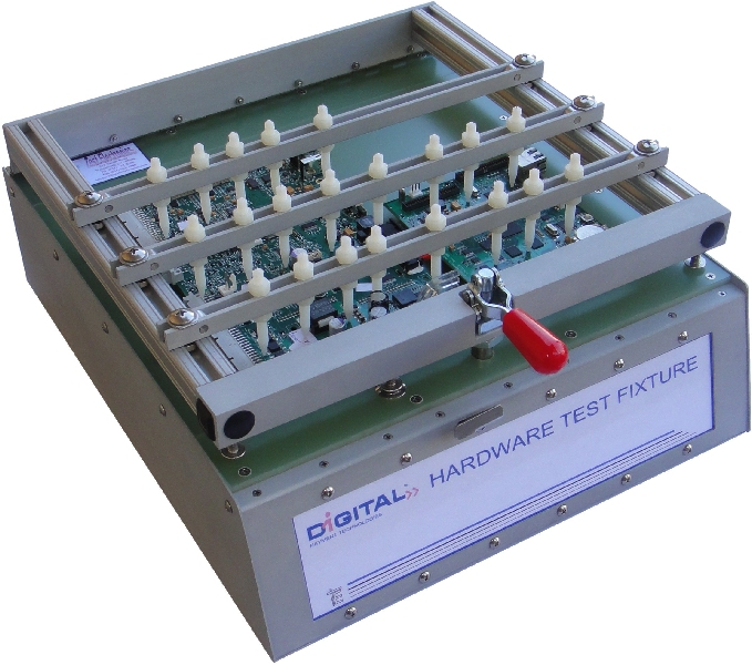 Electronics Test Jig : Bed of nails tester nail ftempo